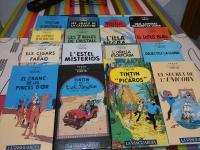 Col·lecció completa TINTIN en VHS